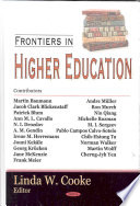 Frontiers in Higher Education
