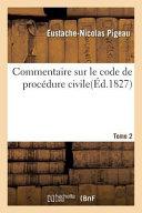 Commentaire sur le Code de procédure civile