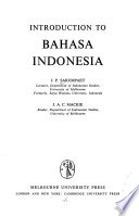 Introduction to Bahasa Indonesia