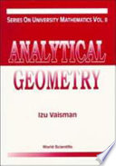 Analytical Geometry