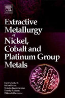 Extractive Metallurgy of Nickel, Cobalt and Platinum Group Metals