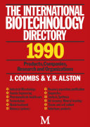 Pdf International Biotechnology Directory Telecharger