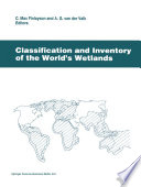 Classification and Inventory of the World   s Wetlands