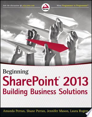 Download Beginning SharePoint 2013 online Books - godinez books