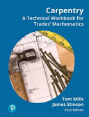 Carpentry Workbook for Mathematics for the Trades