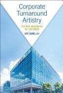 Pdf Corporate Turnaround Artistry