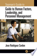 Seaman S Guide To Human Factors Leadership And Personnel Management