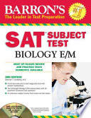 Barron's SAT Subject Test : Biology E/M with CD-ROM