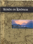 Words on Kindness