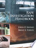 Rape Investigation Handbook Book