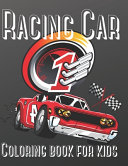 Racing Car Coloring Book For Kids