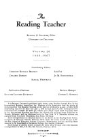 The reading teacher