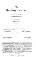 The reading teacher Book