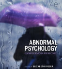 Abnormal Psychology: Leading researcher perspectives, 4th Edition Pdf/ePub eBook