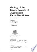 Geology of the Mineral Deposits of Australia and Papua New Guinea