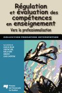 Pdf Régulation et évaluation des compétences en enseignement Telecharger