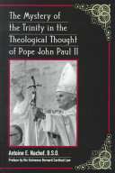 The Mystery Of The Trinity In The Theological Thought Of Pope John Paul Ii