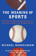 The Meaning Of Sports Book