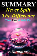 Summary Never Split the Difference Book