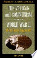 The Vatican and Communism in World War II