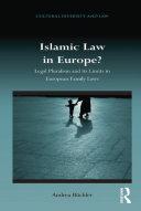 Islamic Law in Europe?