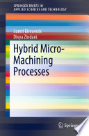 Hybrid Micro Machining Processes Book PDF