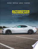 Automotive Technology: A Systems Approach, 3rd ed. (Canadian ed.)