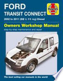 Ford Transit Connect Service and Repair Manual