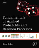 Fundamentals of Applied Probability and Random Processes