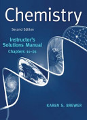 Instructor s Solutions Manual  Chapters 1 10  for  Chemistry