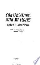 Conversations with My Elders