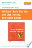 Nutrition Concepts Online for Williams' Basic Nutrition and Diet Therapy (User Guide and Access Code)