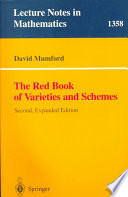 The Red Book Of Varieties And Schemes Book PDF