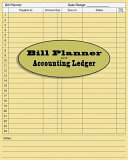 Bill Accounting Ledger Book Paper