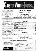 Chester White Journal