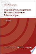 Investitionsmanagement - Finanzmanagement - Bilanzanalyse
