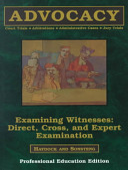 Advocacy: Examining witnesses