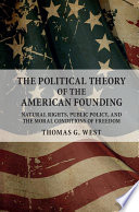 The Political Theory of the American Founding Book PDF