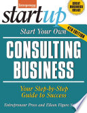 Start Your Own Consulting Business Book PDF