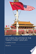 US China Relations in the Twenty First Century