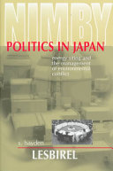 NIMBY Politics in Japan