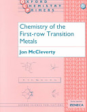 Chemistry of the First Row Transition Metals