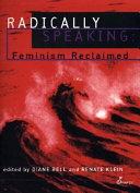 Radically Speaking