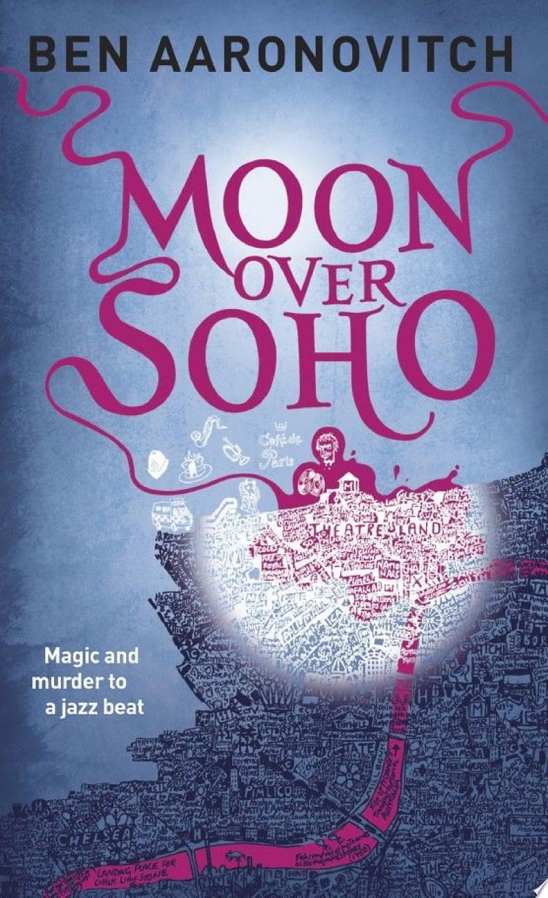 Moon Over Soho banner backdrop