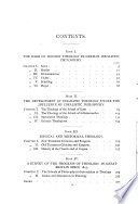 The Development of Theology in Germany Since Kant