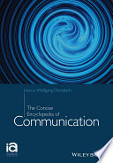 The Concise Encyclopedia Of Communication Book PDF