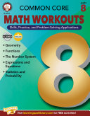 Common Core Math Workouts, Grade 8