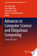 Advances in Computer Science and Ubiquitous Computing Book