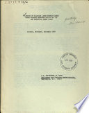 Listing of Eligible Labor Surplus Areas Under Defense Manpower Policy No. 4A and Executive Order 10582