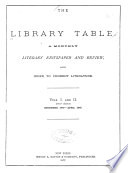 The Library Table